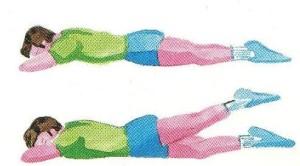 allungare muscoli lombari
